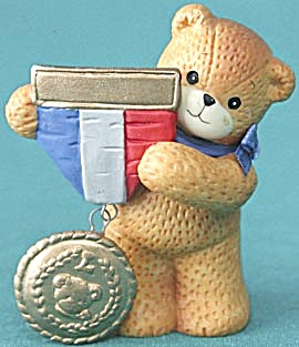 Lucy and Me Bear Dressed Holding A Medal (Image1)