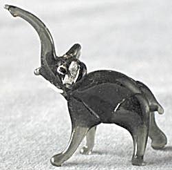 Vintage Glass Elephant (Image1)