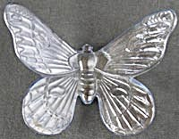 Vintage Glass Butterfly