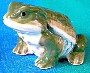 Vintage Ceramic Toads Set Of 2