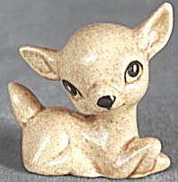 Vintage Fawn & 2 Bunnies Figurine (Image1)