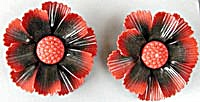 Vintage Metal Flower Curtain Tie Backs Set Of 2