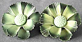 Vintage Metal Flower Curtain Tie Backs Set of 2 (Image1)