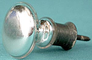 Vintage Mercury Glass Curtain Tieback (Image1)