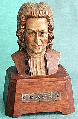 Vintage Toriart Bach Musical Figurine