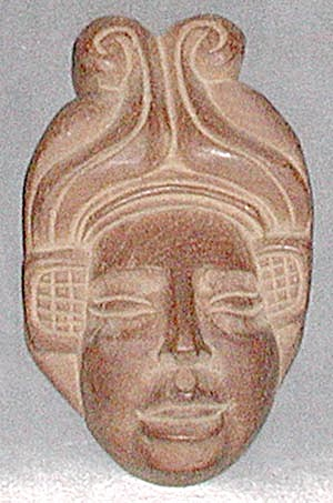 Wood Carving Of Asian Woman