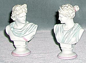 Diana And Apollo Busts