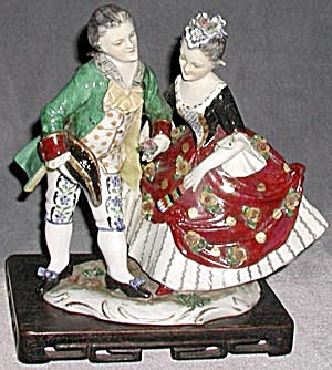 Antique Royal Vienna Figurine
