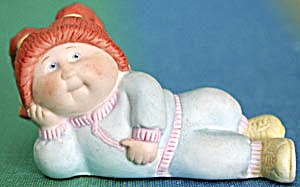 Cabbage Patch Girl Figurine