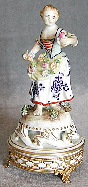 Italian Figurine Of A Young Lady