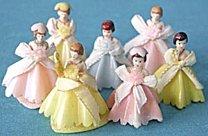 Vintage Bride Maids Set Of 7