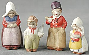 Vintage German Bisque Tiny Dutch Family (Image1)