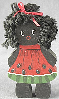 Wooden Black Girl  (Image1)