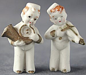 Vintage Bisque Sailor Band Figurines (Image1)