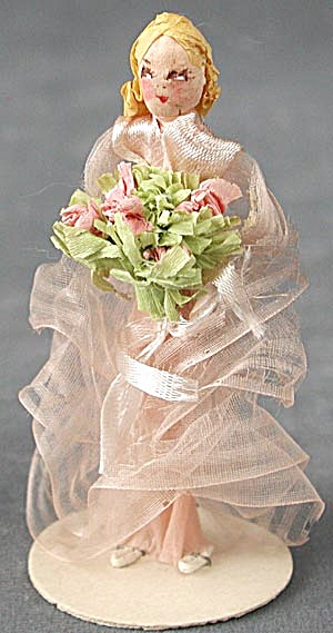 Vintage Crepe Paper Bride (Image1)