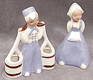 Vintage Yona Figurines of Dutch Boy & Girl (Image1)