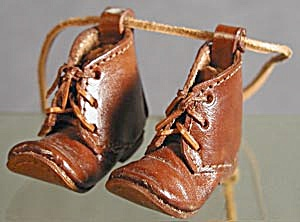 Minature Leather Boots  (Image1)