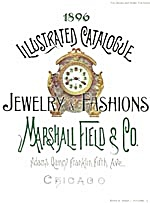 1896 Illustrated Catalogue Of Jewelry & Fashions