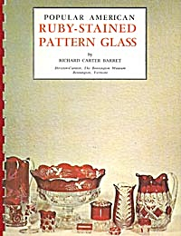 Popular American Ruby-stained Pattern Glass