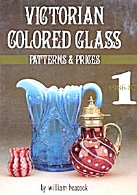 Victorian Colored Glass Patterns & Prices Book I