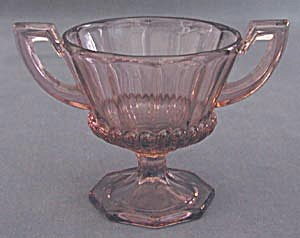 Vintage Heliotrope Colored Sugar Bowl (Image1)