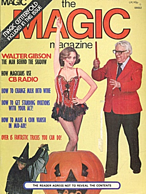 Vintage Mix Of Magic Magazines Set Of 8