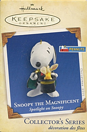 Hallmark Snoopy The Magnificent