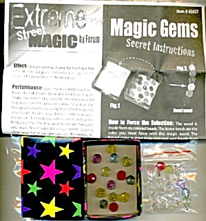 Magic Gems Trick