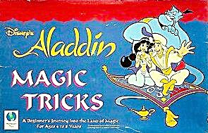 Vintage 1993 Aladdin Magic Tricks Toy Set
