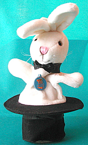 Viintage Dakin Rabbit In A Magic Top Hat