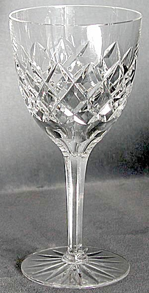 Vintage Cut Glass Set of 10 Goblets (Image1)