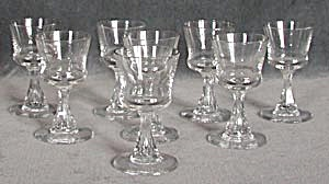 Vintage Swedish Crystal Cordials Set of 8 (Image1)