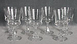 Vintage Swedish Crystal Wine Glasses (Image1)