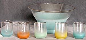 Rainbow Punch Bowl Set (Image1)