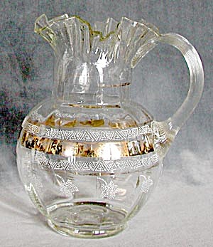 Antique Lemonade Glass Pitcher (Image1)