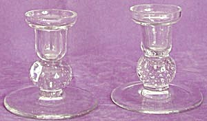 Vintage Pairpoint Candle Holders