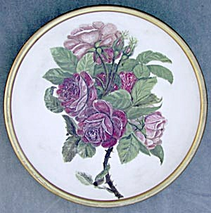 Vintage Mt. Washington Rose Charger/Plaque (Image1)