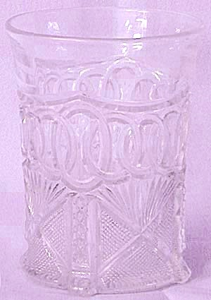 Antique Tiny Footed Glass (Image1)