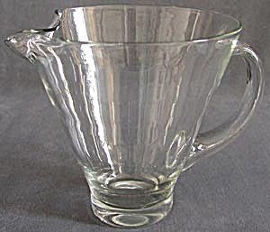 Vintage Glass Pitcher (Image1)