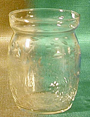 Vintage Wheel Cut Glass Serving Container (Image1)