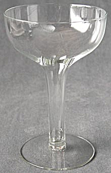 Vintage Hollow Stem Champagne Glasses Set of 12 (Image1)