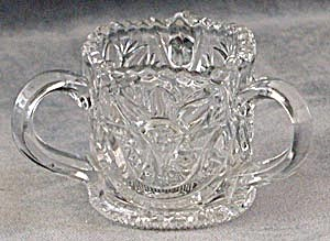 Antique Three Handled Glass Toothpick