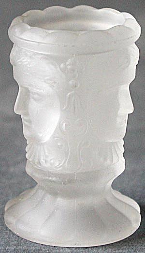 Vintage Three Face Toothpick Holder (Image1)