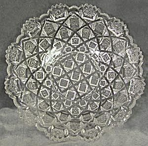 Vintage Pressed Glass Bowl (Image1)