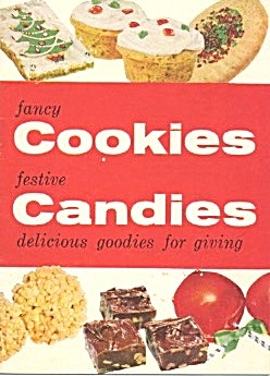 Fancy Cookies Festive Candies Delicious Goodies For