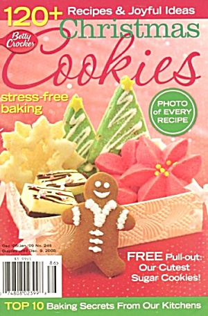 Betty Crocker's Christmas Cooky Book