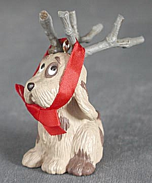 Hallmark 1987 Reindoggy Christmas Ornament (Image1)