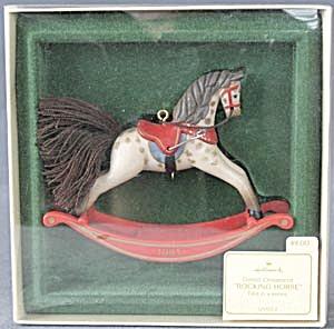 Vintage Hallmark Rocking Horse Ornament  (Image1)
