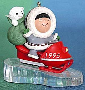 Hallmark 1995 Frosty Friends Christmas Ornament (Image1)