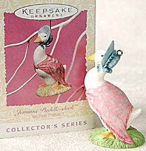 Hallmark Beatrix Potter Jemima Puddle Duck Ornament (Image1)